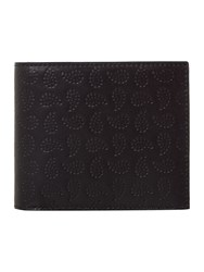 Paul Smith London Paisley Print Bilfold Wallet Black