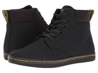 Dr. Martens Maelly Wc Black Waffle Cotton Fine Canvas Women's Boots