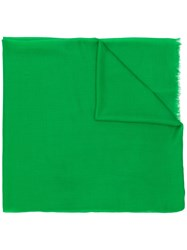 Isabel Marant Classic Chic Scarf Green