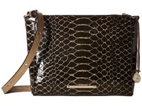 Brahmin Carrie Crossbody Brown Cross Body Handbags