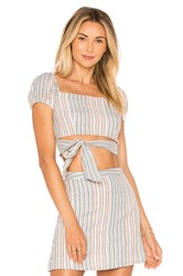 Ale By Alessandra Hollie Top Blue