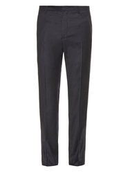 Jil Sander Wool And Cashmere Blend Flannel Trousers