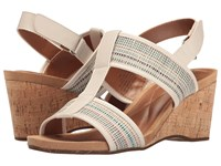 Easy Spirit Lalani Off White Off White Multi Synthetic Women's Shoes Beige