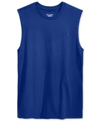 Champion Men's Jersey Muscle Tank Royal Blue