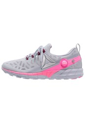 Reebok Zpump Fusion 2.5 Neutral Running Shoes Grey Berry Pink White