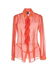 Tricot Chic Shirts Coral