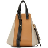 Loewe Black And Taupe Small Hammock Bag