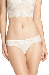 Chelsea 28 Women's Chelsea28 Lacy Days Hipster Briefs Ivory Egret