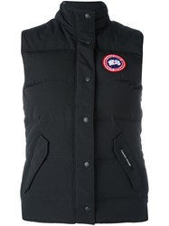 Canada Goose Padded Gilet Black