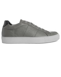 National Standard Grey Edition 4 Leather Sneakers