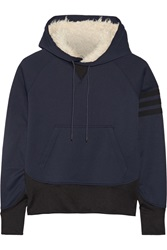Y 3 Jersey Hooded Top Blue