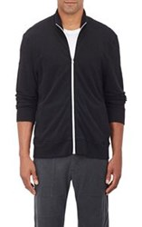 James Perse Slub Pique Zip Front Jacket Colorless
