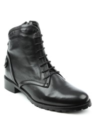 Daniel Ambleside Chunky Lace Up Ankle Boots Black