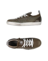 Primabase Low Tops And Trainers Military Green