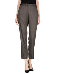 Maliparmi Trousers Casual Trousers Women Dark Brown