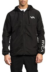 Rvca Axe Packable Water Resistant Jacket Black