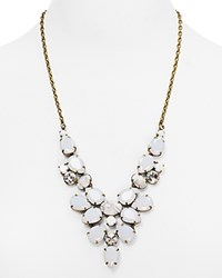 Sorrelli Crystal Bib Necklace 22 Antique Gold