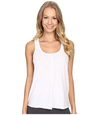P.J. Salvage Keyhole Tank Top White Women's Sleeveless