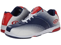 Dexter Frank White Navy Red Men's Bowling Shoes Multi