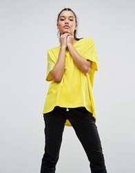 Asos Super Oversized T Shirt Bright Yellow
