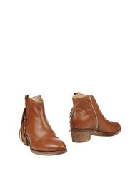 Manas Design Ankle Boots Brown