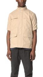Shades Of Grey Short Sleeve Safari Jacket Khaki