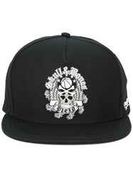 Plein Sport Skull Embroidered Cap Black