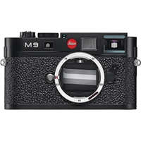 Leica M9 Rangefinder Digital Camera Body Black 10704 Bandh Photo