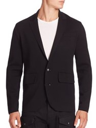 Ralph Lauren Single Breasted Wool Blazer Black