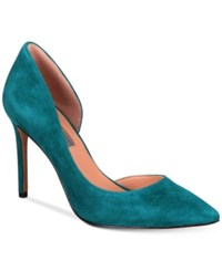 Inc International Concepts Women's Kenjay D'orsay Pumps Only At Macy's Women's Shoes Teal