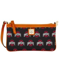 Dooney And Bourke Ohio State Buckeyes Large Wristlet Black