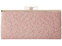 Jessica Mcclintock Laura Lace Frame Clutch Blush Clutch Handbags Pink