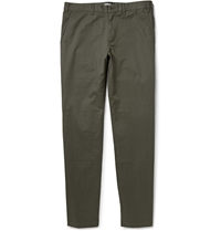 Tomas Maier Cotton Twill Trousers Green