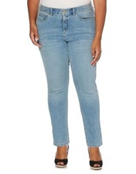Rafaella Plus Slimming Fit Comfort Waist Jeans Bay Blue