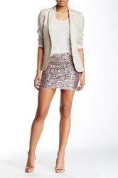 Zadig And Voltaire Jasmi Pai Delux Skirt Pink