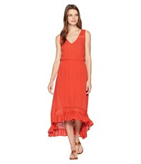 Rock And Roll Cowgirl Sleeveless Dress D5 6780 Orange