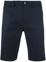 Dolce And Gabbana Chino Shorts Blue