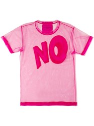 Viktor And Rolf The No. Icon 1.2 T Shirt Nylon Pink Purple