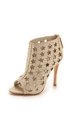 Alice Olivia Giovanna Star Booties Metallic