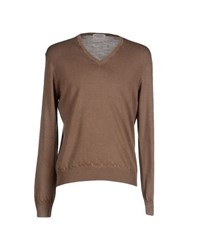 Gran Sasso Knitwear Jumpers Men Khaki