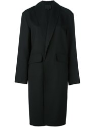 Alexander Wang Shawl Collar Coat Black