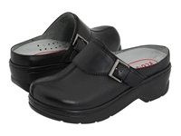 Klogs Usa Austin Black Smooth Women's Clog Shoes
