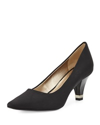 Circa Joan And David Daily Pointed Toe Pump Black