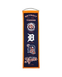 Winning Streak Detroit Tigers Heritage Banner Team Color