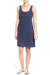 Tommy Bahama Arden Embellished Jersey Sundress Blue