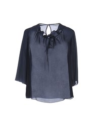 Hope Collection Blouses Dark Blue