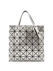 Issey Miyake Lucent Gloss Tote Silver
