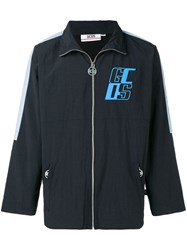 Gcds Logo Sports Jacket Black