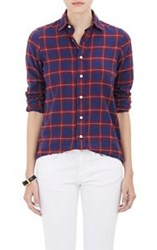 Salvatore Piccolo Flannel Shirt Red