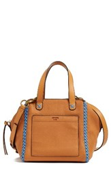 Tory Burch Mini Whipstitch Leather Satchel